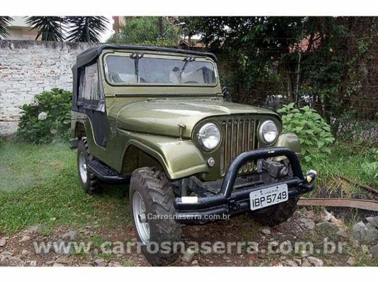 WILLYS - JEEP - 1959/1959 - Verde - Sob Consulta